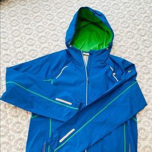 BMW Athletics Men's Wind Jacket (Blue-Green-Silver